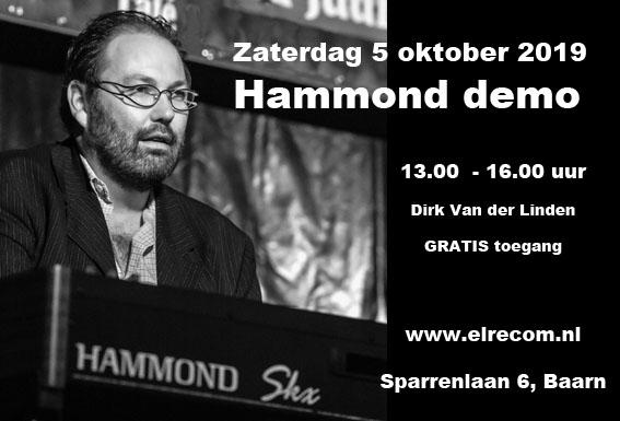 Demonstratie Hammond 5 oktober 2019