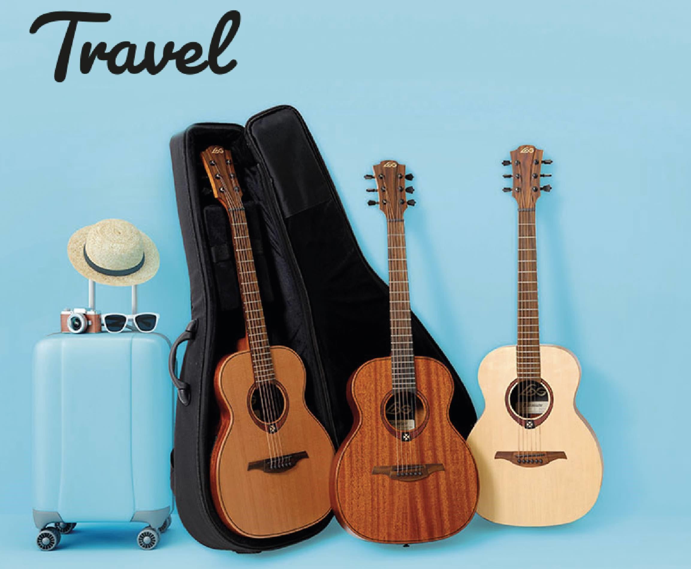 Lag travel gitaar