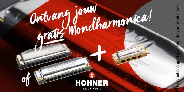 Hohner gratis mondharmonica actie